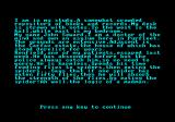 Dracula Amstrad CPC Starting chapter 3
