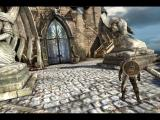 Infinity Blade iPad Branch paths through the castle determines opponents - big door or take the stairs