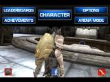 Infinity Blade iPad Pull down menu