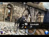 Infinity Blade iPad Level 16 Cavalier is protecting the treasure chest
