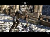 Infinity Blade iPad Final death blow for the Cavalier
