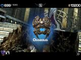 Infinity Blade iPad The treasure chest at his throne provides a good shield