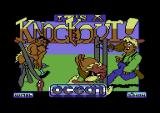 It's a Knockout Commodore 64 Title screen
