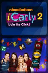 iCarly 2: iJoin the Click! Nintendo DS Title screen / Main menu.