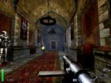 Return to Castle Wolfenstein Macintosh Another guard firing as I continue to the level exit