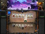 Runespell: Overture Windows Forming a poker hand allows the player to attack