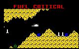 Super Cobra Intellivision Oh uh, fuel level is critical