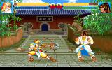 Sango Fighter 2 DOS Will Sun Ce act in time to avoid being hit by Huang Zhong's Heart Attack?