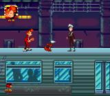 Spirou Genesis Level four is subway. Guess our herou can't just enter a train like everybody does... And so we meet Cyanida again!