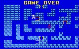Tutankham Intellivision Game over