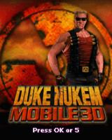 Duke Nukem Mobile J2ME Title screen