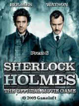 Sherlock Holmes: The Official Movie Game J2ME Title screen