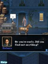 Sherlock Holmes: The Official Movie Game J2ME Holmes arriving with horse
