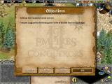 Age of Empires II: Gold Edition Macintosh Objectives