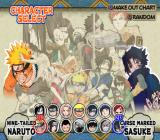 Shonen Jump: Naruto - Ultimate Ninja PlayStation 2 Ninja selection...