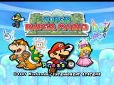 Super Paper Mario Wii Title Screen
