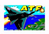 ATF: Advanced Tactical Fighter Amstrad CPC Loading screen