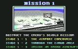 Shadow Dancer Commodore 64 Mission 1 Briefing