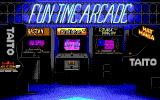 Arkanoid DOS Fun Time Arcade Logo (EGA)