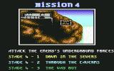 Shadow Dancer Commodore 64 Mission 4 Briefing