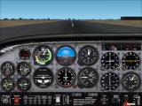 VFR Photographic Scenery: Central & Southern England Windows Southampton International Airport. On the ground with the additional scenery disabled