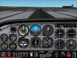 VFR Photographic Scenery: Central & Southern England Windows Southampton International Airport. On the ground with the additional scenery enabled