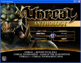 Unreal: Anthology Windows Install / main menu