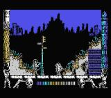Metropolis MSX Starting location. Already you fight enemies.