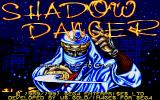 Shadow Dancer Amiga Title