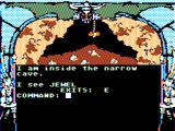 Dragon Blade TRS-80 CoCo I discovered a cave