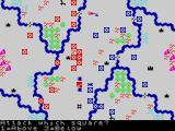 Confrontation ZX Spectrum Twin River scenario - Playing the game