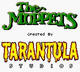 Jim Henson's Muppets Game Boy Color Title screen