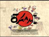 Ōkami Wii Title Screen