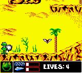Jim Henson's Muppets Game Boy Color The Egypt level. Unlike Animal, Kermit is given paper planes