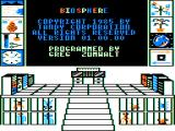Biosphere TRS-80 CoCo Title screen