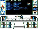 Biosphere TRS-80 CoCo The native colony
