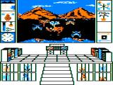 "Biosphere TRS-80 CoCo The ""window view"" allows a look at the animals and plants on the planet"