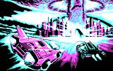 Fire & Forget II DOS Loading screen (CGA).