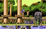 Fire & Ice DOS Level 13-Rain Forest Rampage (Ingame)