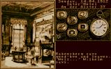 Mystery of the Mummy DOS Game start with main menu
