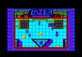 Lazer Tag Amstrad CPC Later in the level.