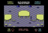 Lazer Tag Commodore 64 Game over