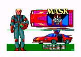 MASK Amstrad CPC Title screen