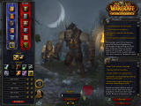 World of Warcraft: Cataclysm Windows Creating a worgen character.