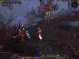World of Warcraft: Cataclysm Windows Undead roam Forgotten Hill.
