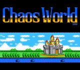 Chaos World NES Title screen