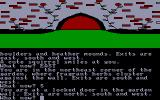 The Worm in Paradise Amstrad CPC Found a locked door