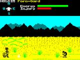 Shadow of the Unicorn ZX Spectrum Hostile creature on the right