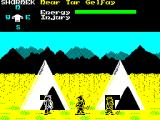 Shadow of the Unicorn ZX Spectrum Found some tents