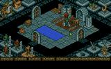 The Four Crystals of Trazere Atari ST Down in a dungeon